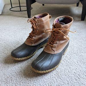L.L. Bean Bean boots GoreTex insulated 10
